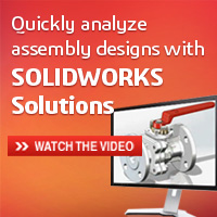 Quickly analyze assembly designs with SOLIDWORKS Solutions