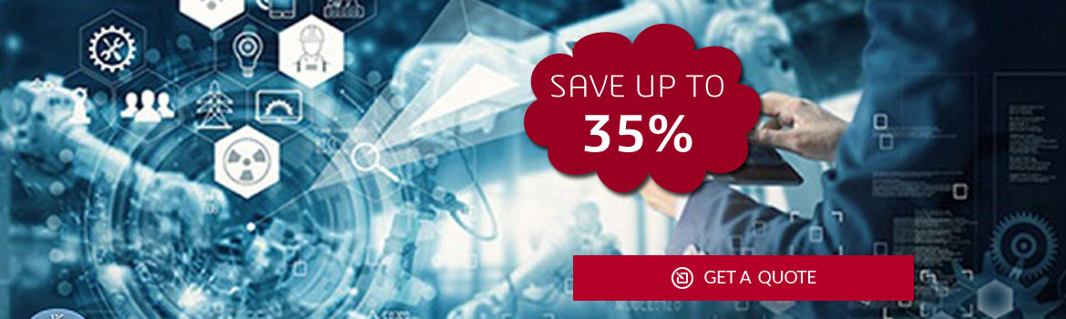 SAVE UP TO 35% ON SOLIDWORKS